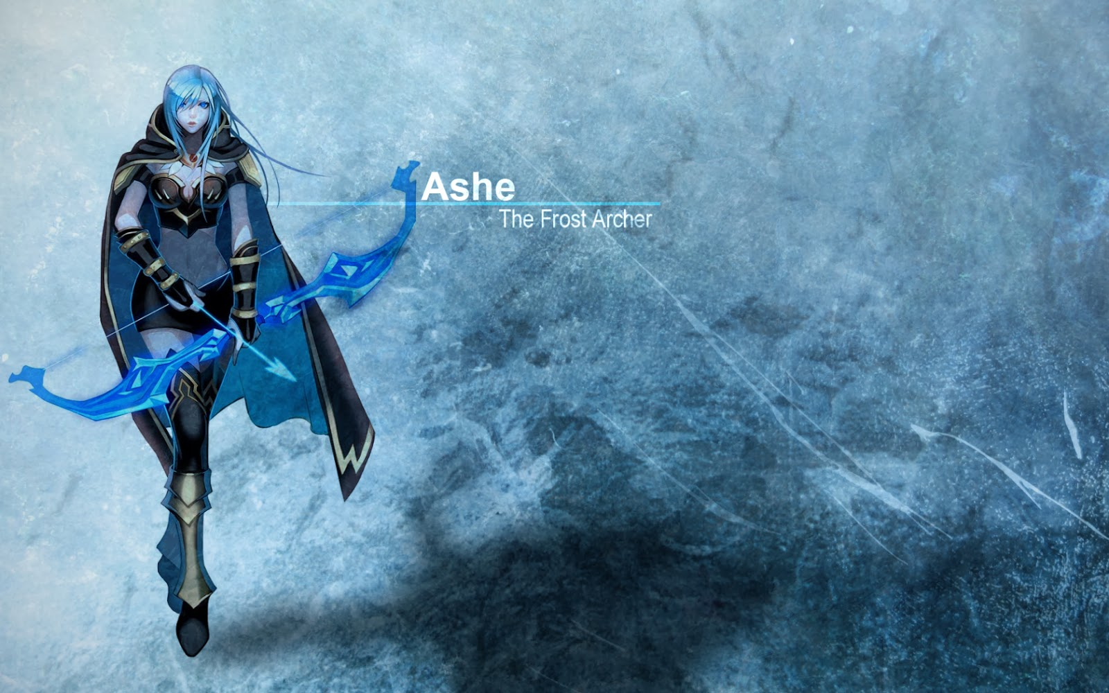 Free Download Ashe League Of Legends Wallpaper Ashe Desktop