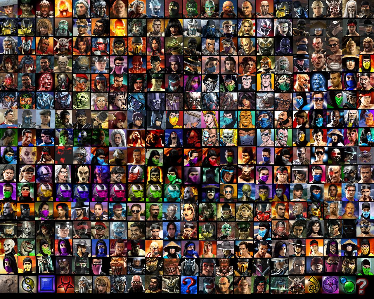 Free Download Mortal Kombat Armageddon Characters 1280x1024 For