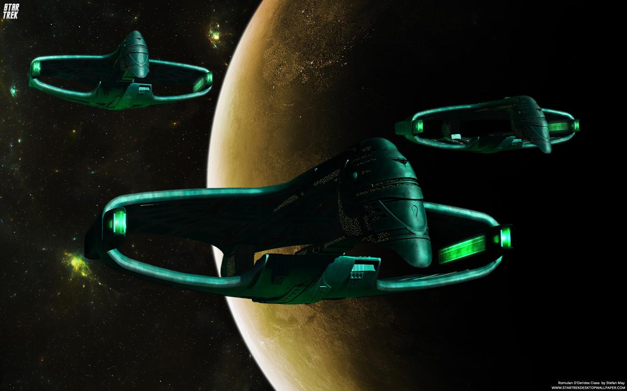Star Trek Romulan Dderidex Class Warbird Star Trek 1280x800