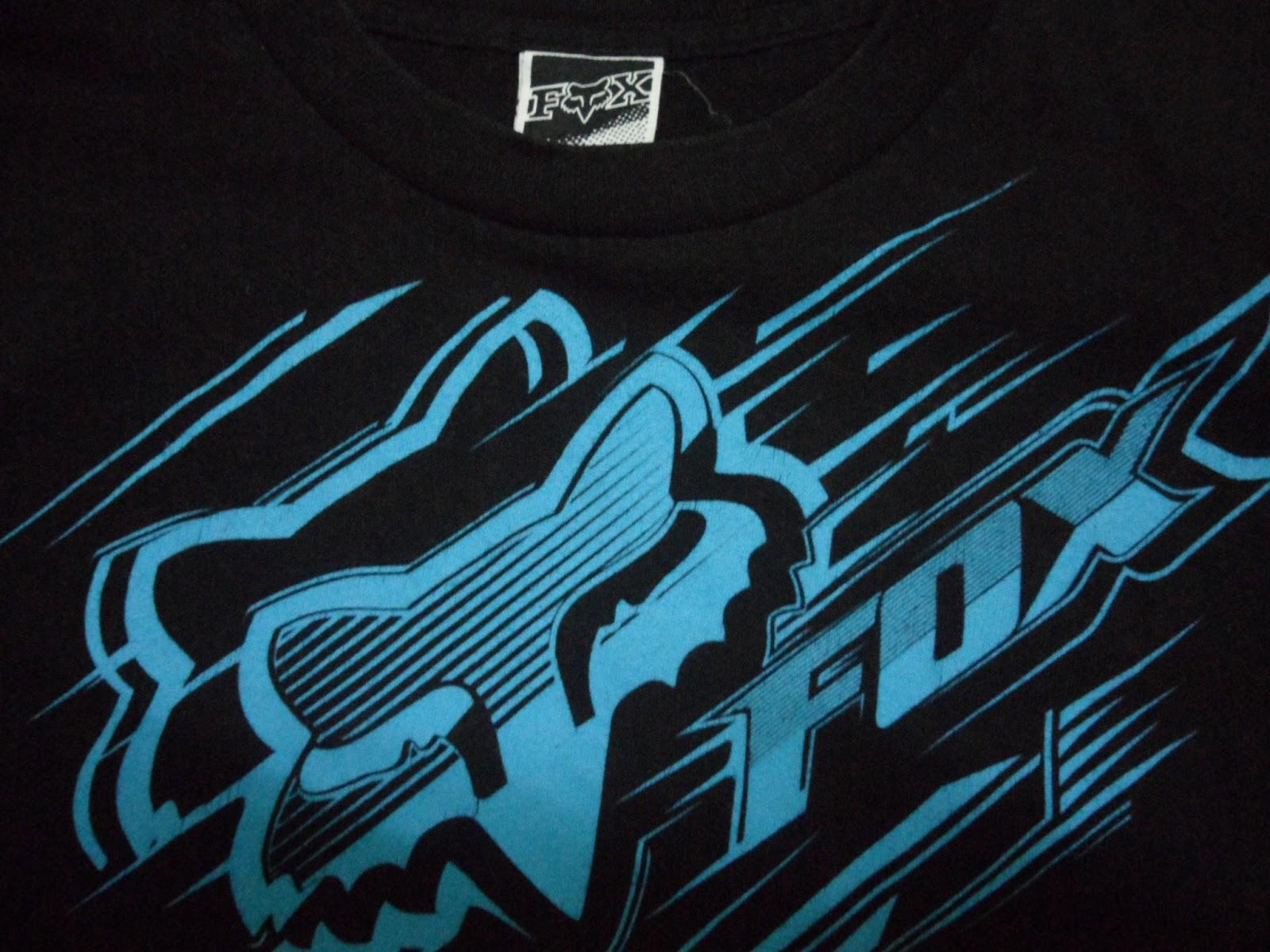 Clayback Bush Thrift Store [T Shirt] Fox Racing Black Tee SOLD 1600x1200