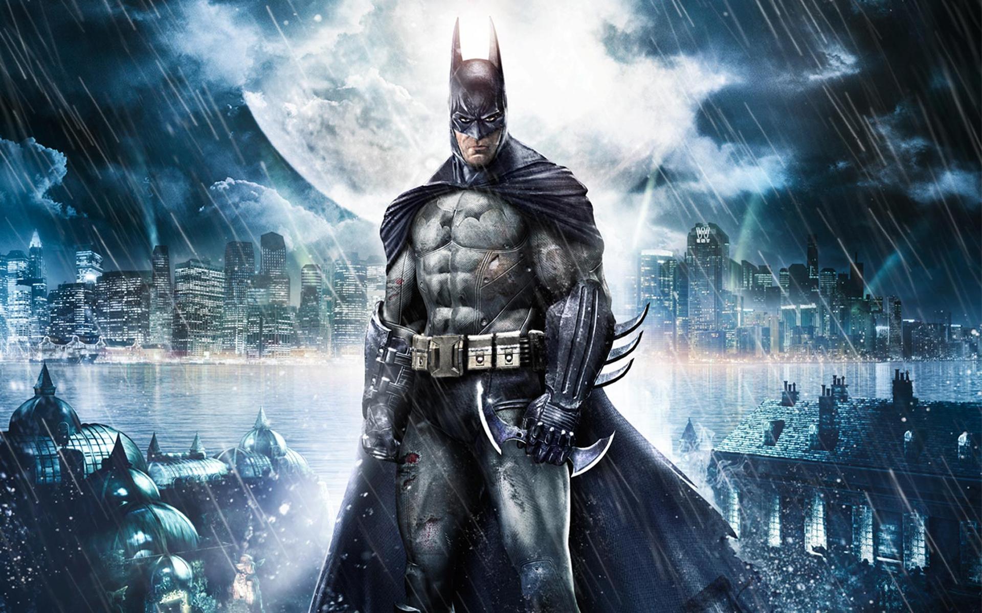 Batman Arkham Asylum desktop wallpaper 1920x1200