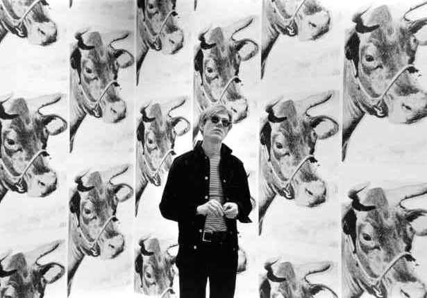 AndyWarhol Cow wallpaperjpg 615x430