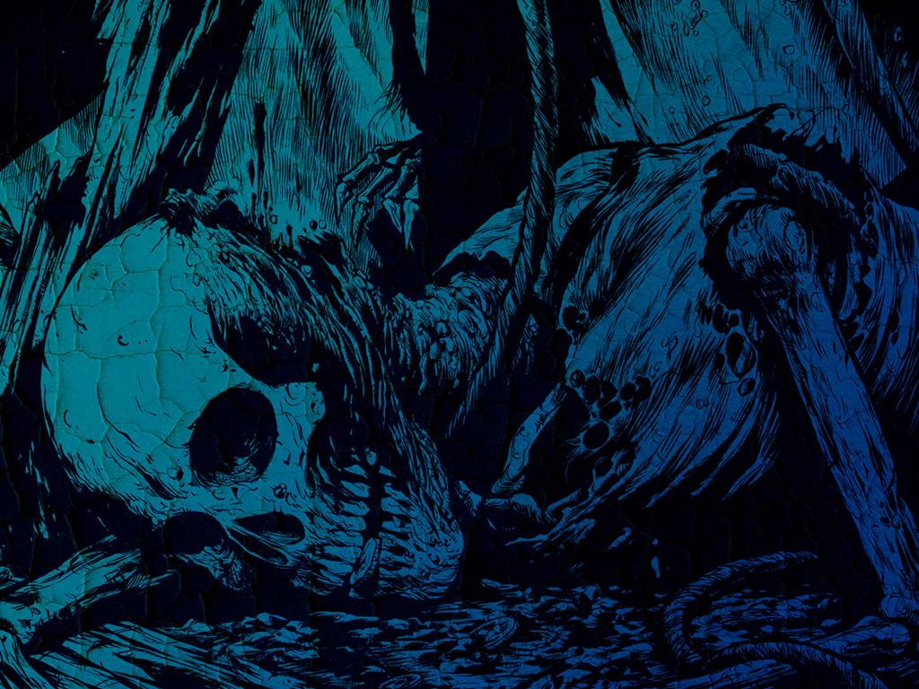 Blue Skull Backgrounds