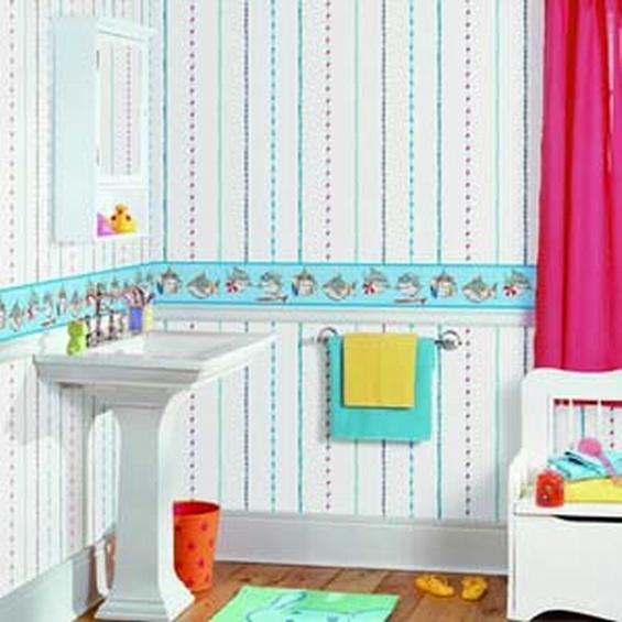 Cute Bathroom Ideas Cute Bathroom Wallpaper Border For Kids Bathroom 565x565