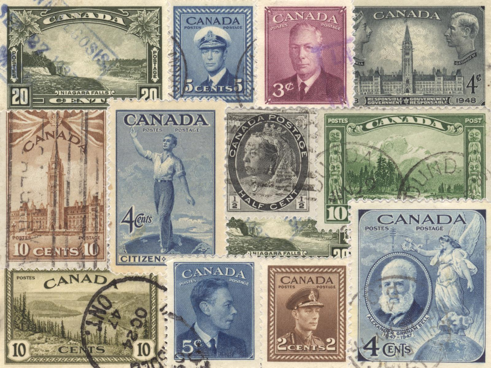 timbres canadiens vintage Wallpaper   ForWallpapercom 1600x1200