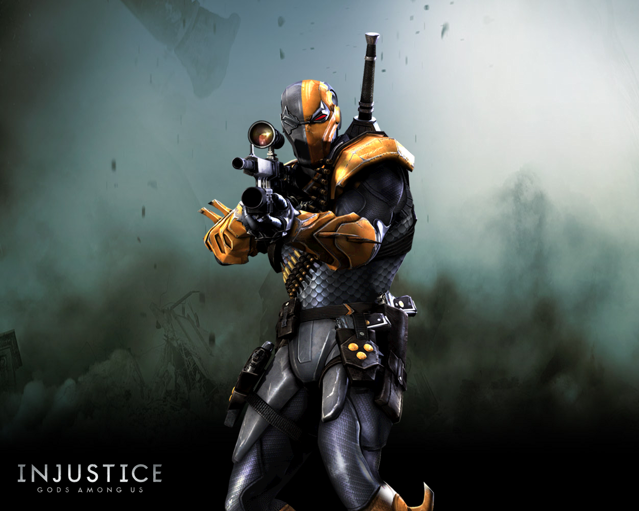 1280x1024px deathstroke wallpapers wallpapersafari game art x injustice gods among us wallpapers 1280x1024 voltagebd Gallery