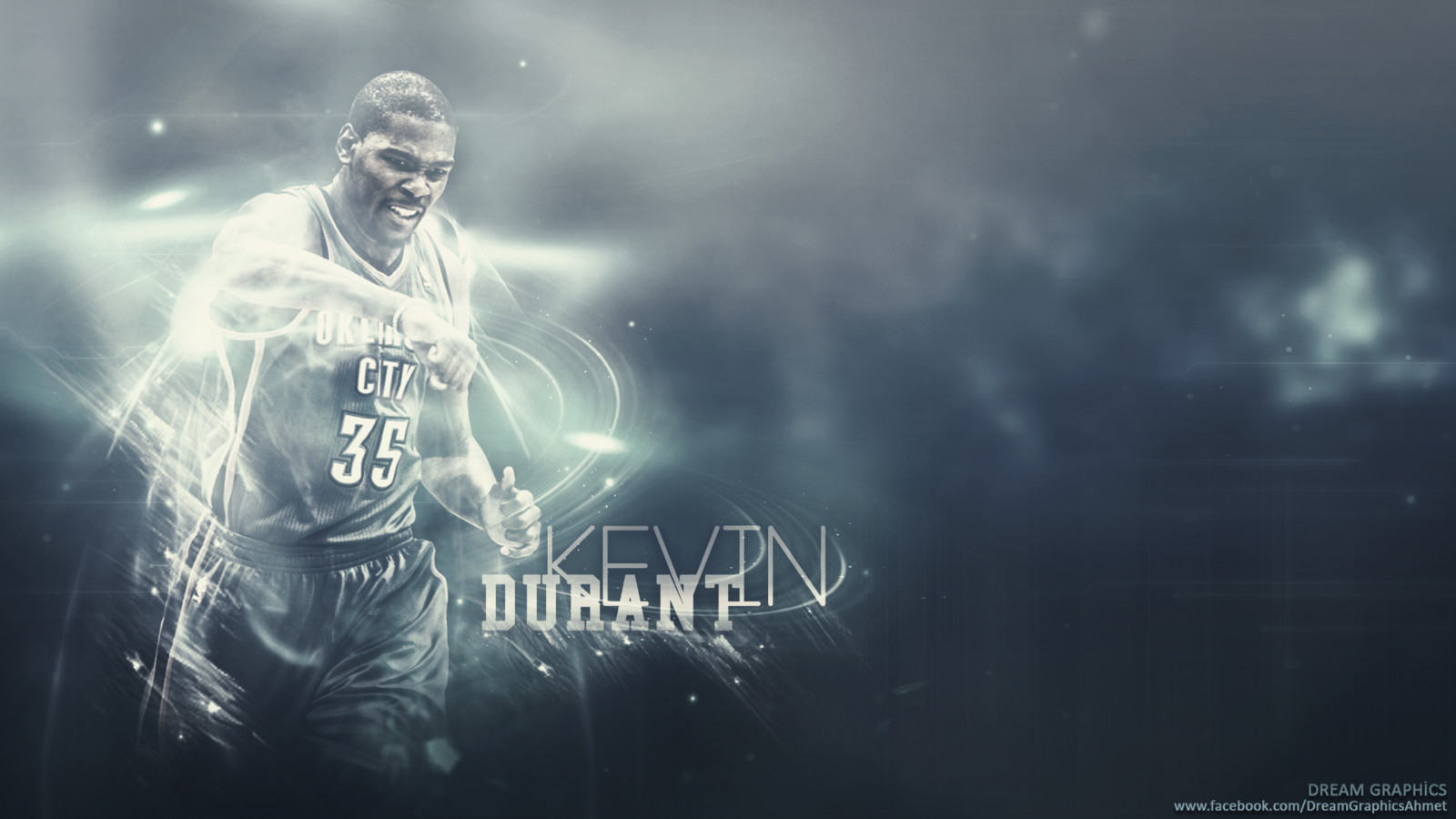 kevin durant wallpaper by dreamgraphicss customization wallpaper 1600x900