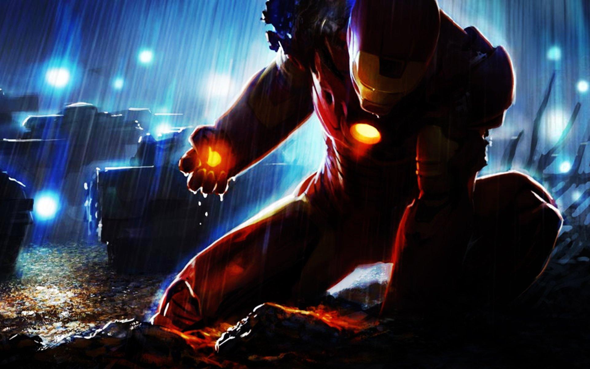 Free download Iron Man 4 Desktop HD Wallpaper Stylish HD