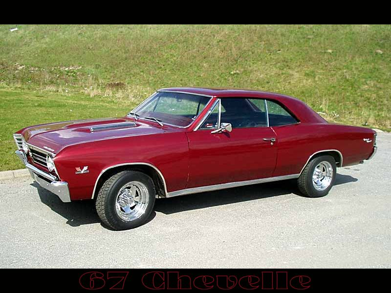 chevelle 67 burgandy by puddlz 800x600