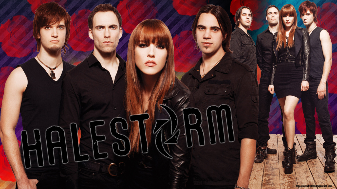 Halestorm Wallpaper by ais541890 1366x768