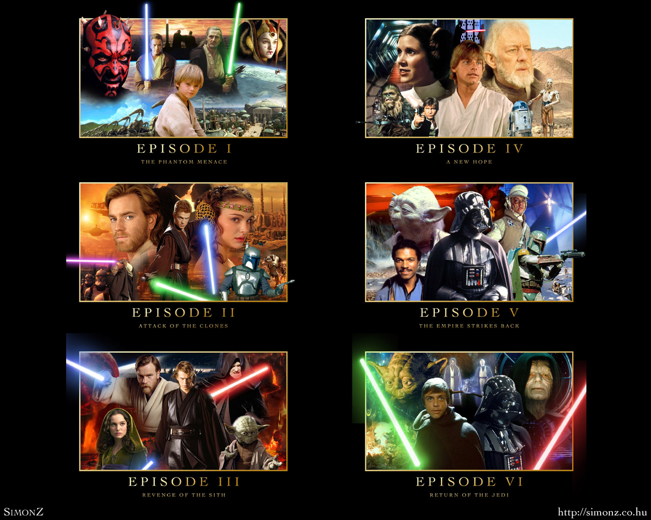 More Star Wars Saga Wallpapers   Star Wars Wallpaper 25692050 1280x1024
