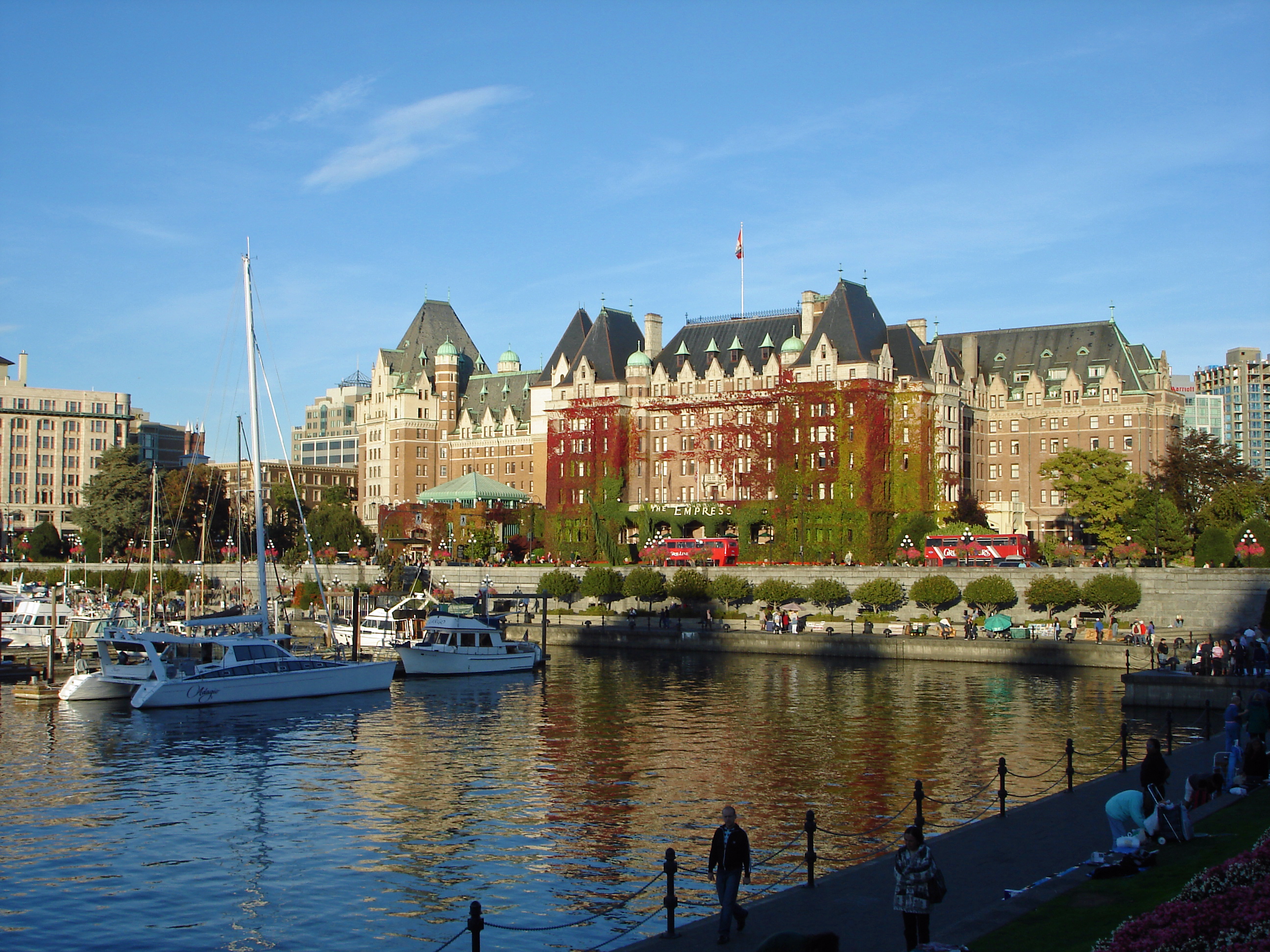 Pin Empress Victoria Bc Canada World City Wallpapers 2592x1944