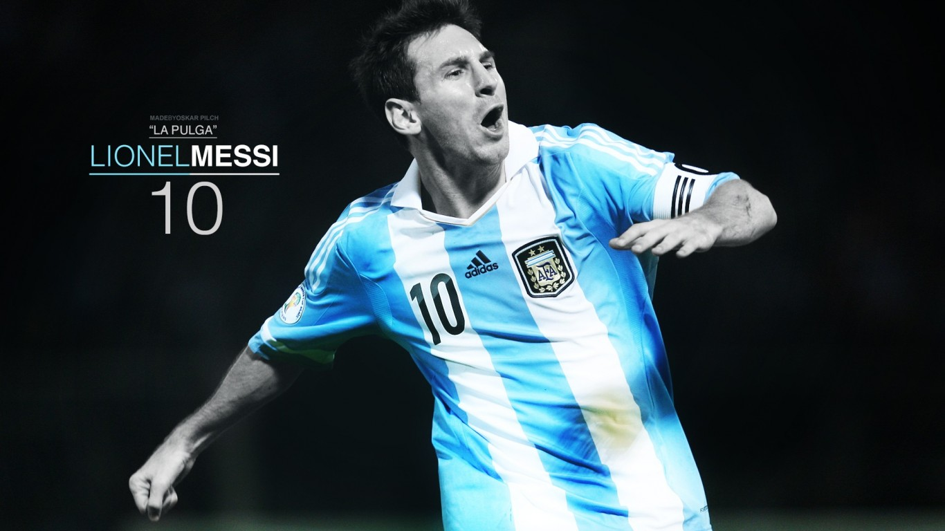 Lionel Messi Wallpapers   Digital HD Photos 1366x768