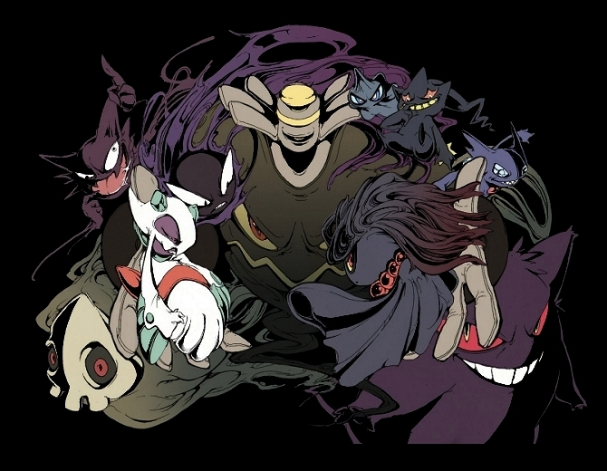Ghost Type Pokemon Wallpaper Ghost pokemon 670x520