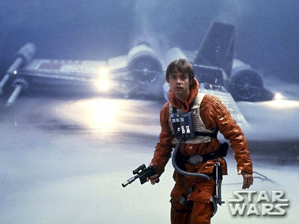 Luke Skywalker 1024x768