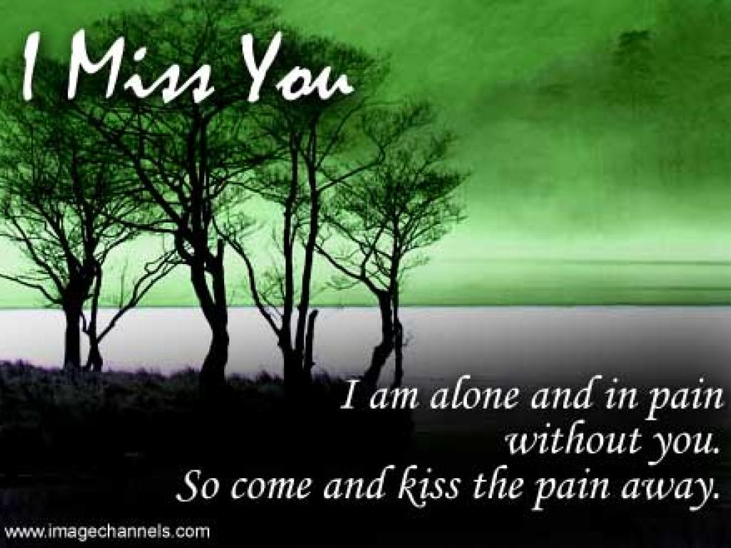 Miss You I am alone English Poetry Wallpapers of I miss u 1024x768
