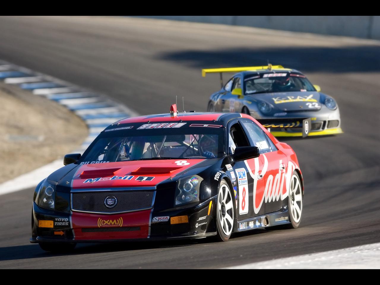 2007 Cadillac CTS V Racing   Laguna Seca 2   1280x960   Wallpaper 1280x960