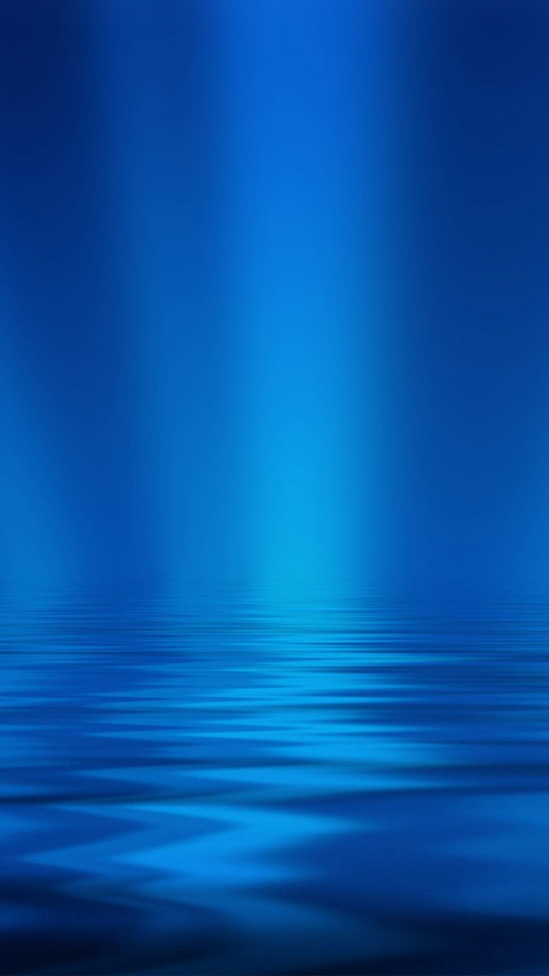 Sea Blue Ripple Pattern iPhone Wallpaper 1080x1920