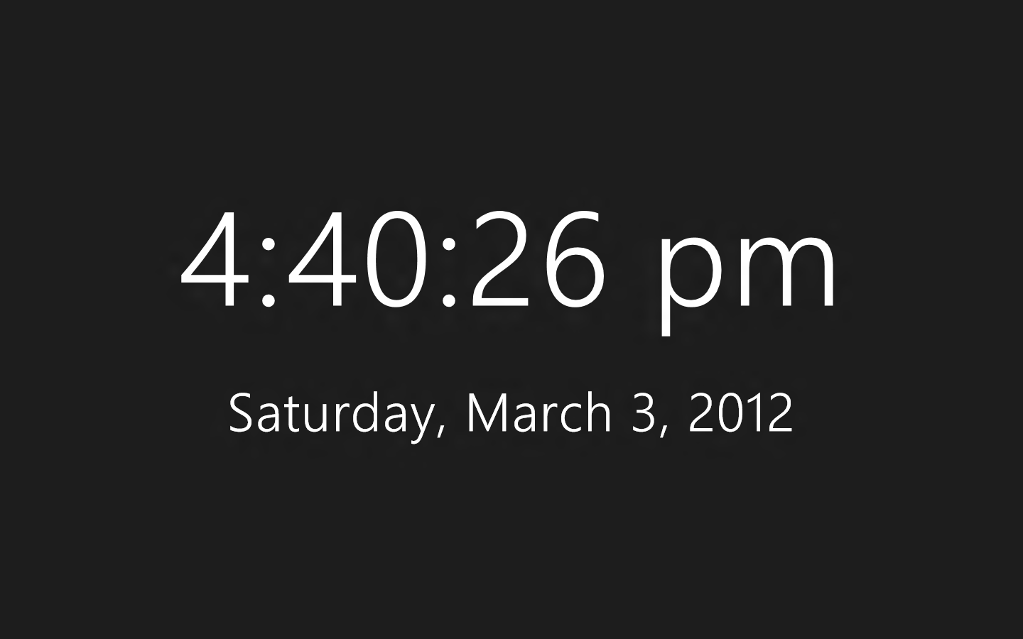 clock app for windows 7