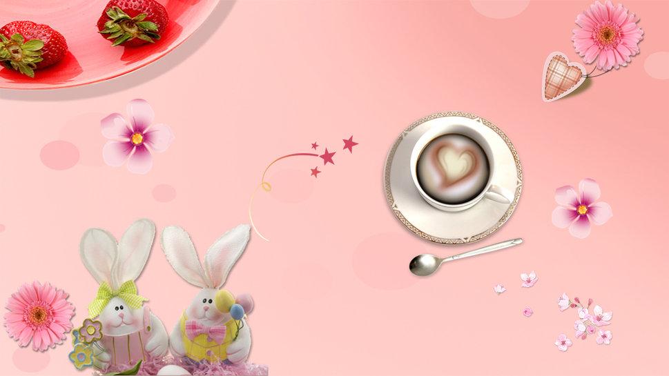 Cute Black And Pink Wallpaper 1 Wallpaper   Hdblackwallpapercom 969x545