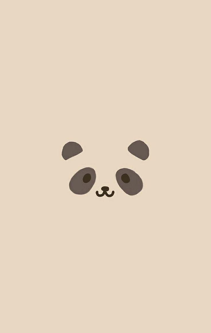 panda iphone4 iphonewallpaper iPhone wallpapers Pinterest 736x1161