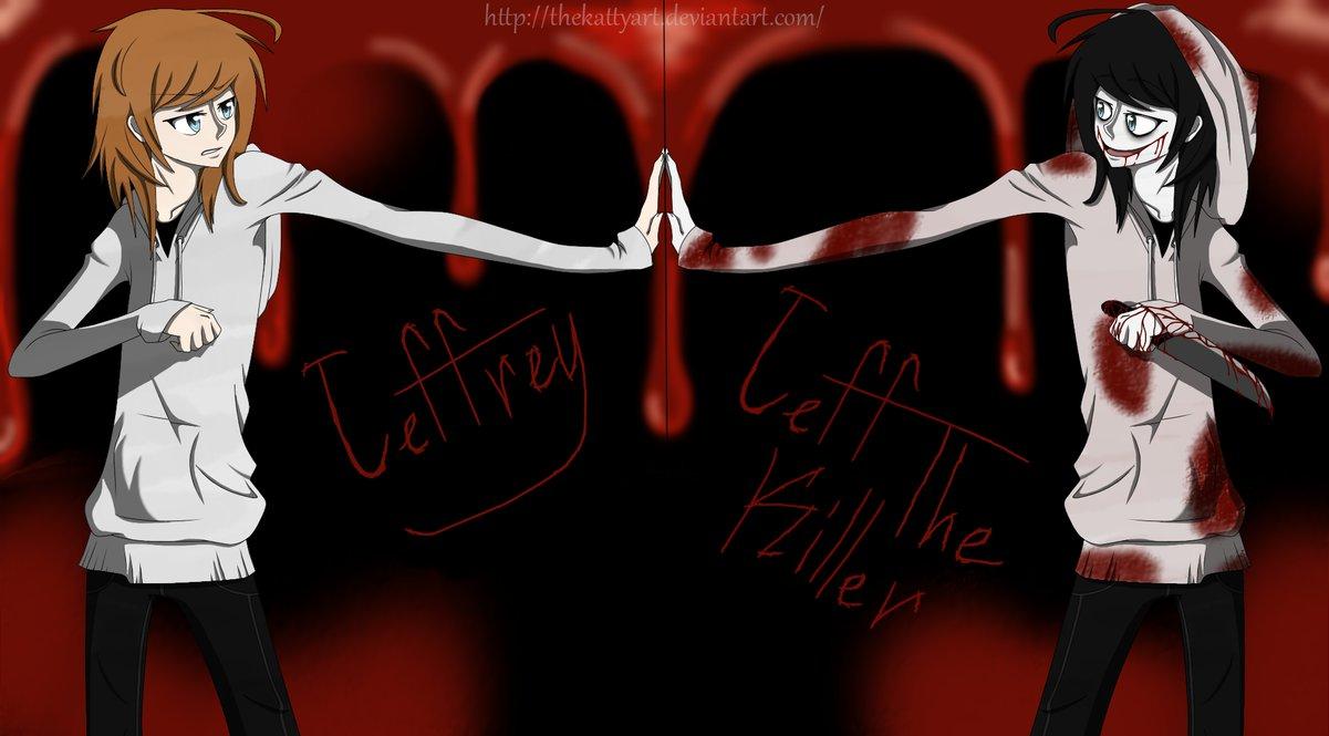 Free Download Jeffrey And Jeff The Killer By Thekattyart 1201x665