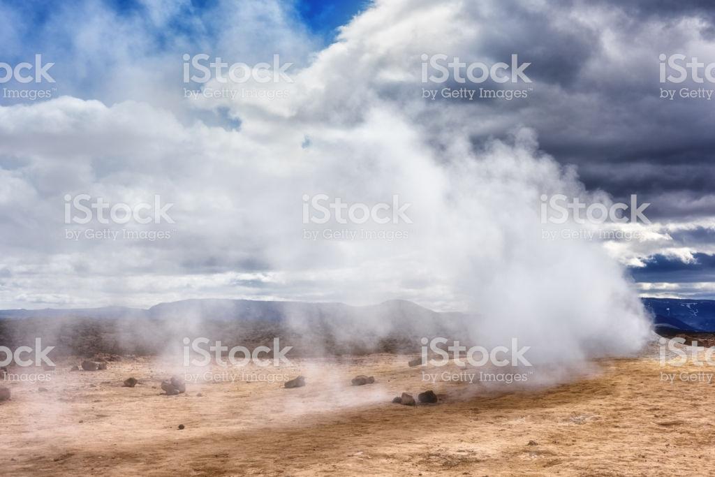 Namafjall Hverir Geothermal Area In Iceland Stunning Landscape Of 1024x683