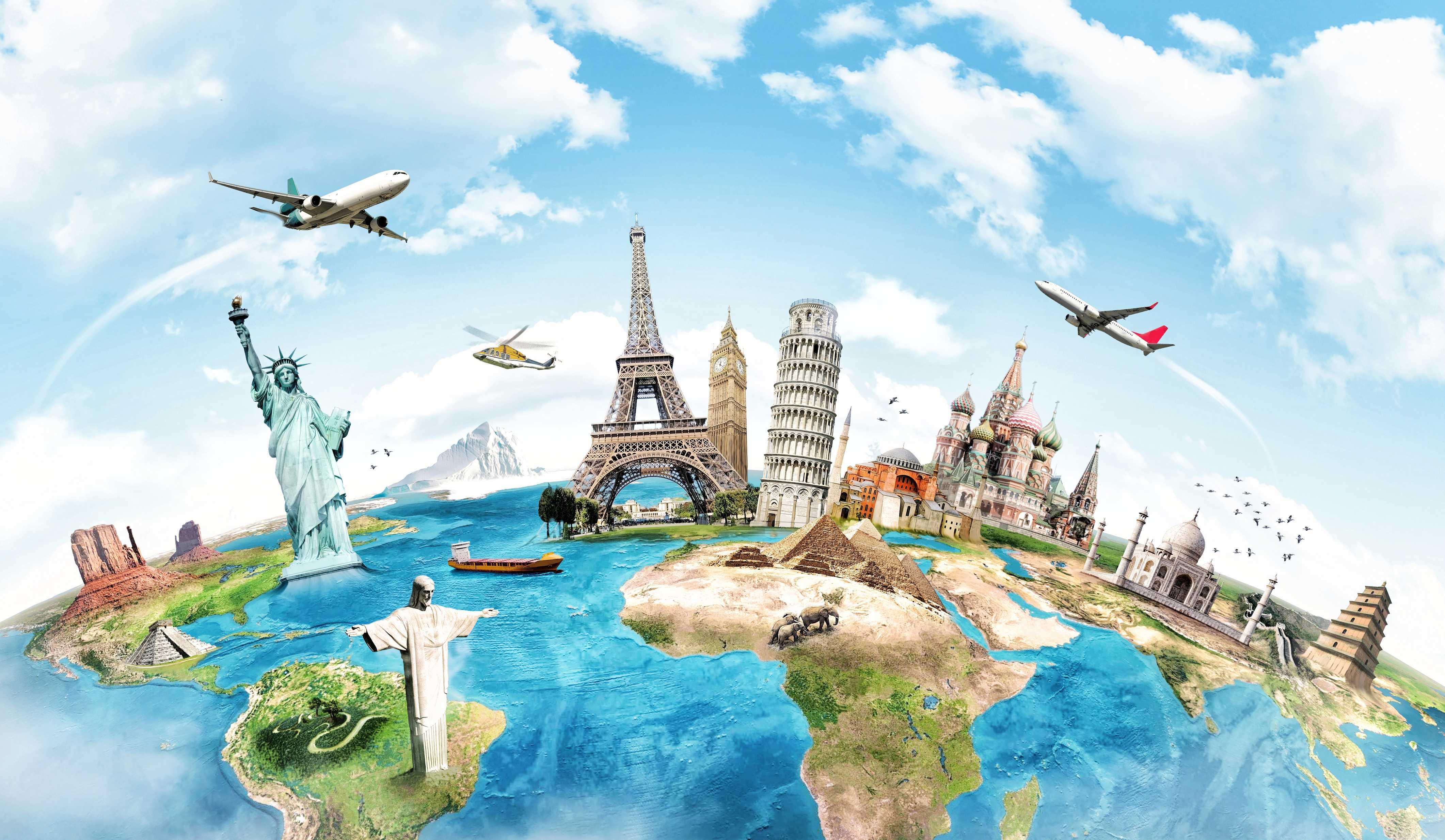 monuments around the world monuments around the worldjpgbackground1 4244x2468