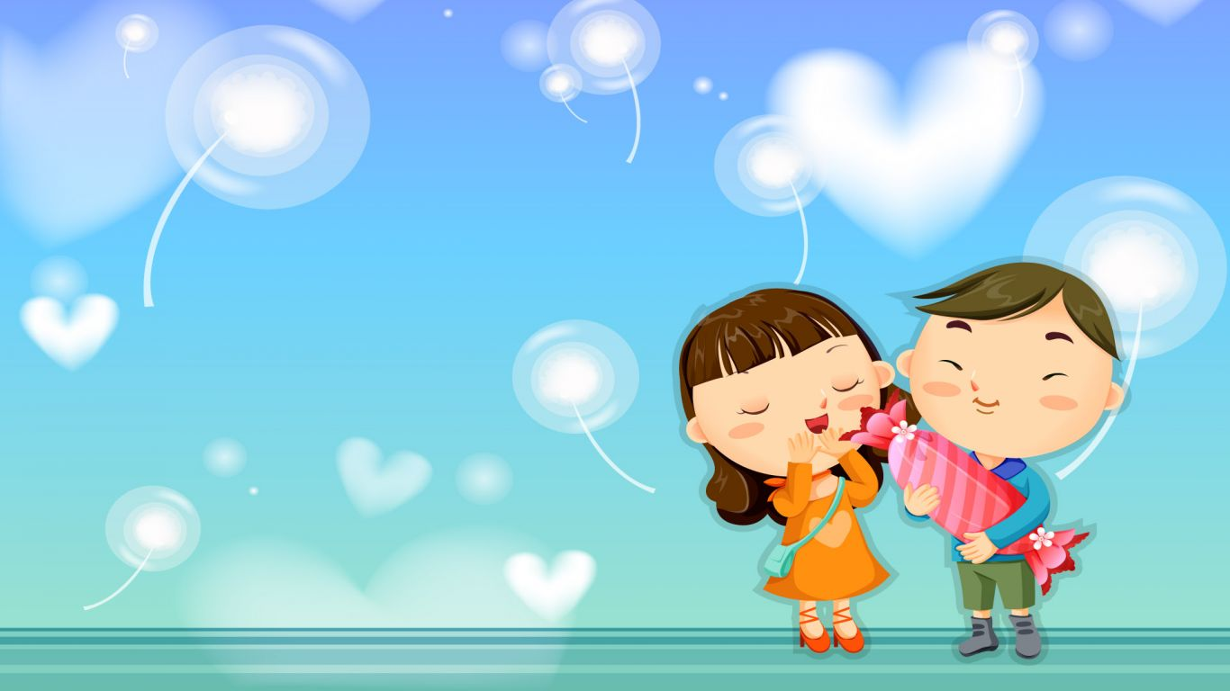 Cartoon Wallpaper Downloads Download HD Wallpapers 1366x768