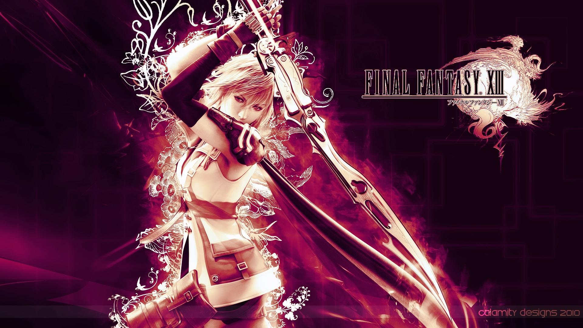 Free Download Download Lightning Final Fantasy Xiii Wallnen