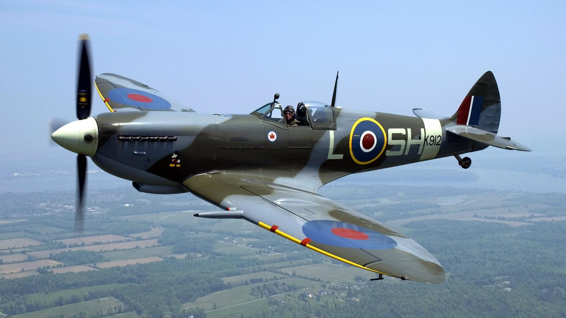 Airplanes Warbird Supermarine Spitfire Spitfire wallpaper 1920x1080 1920x1080