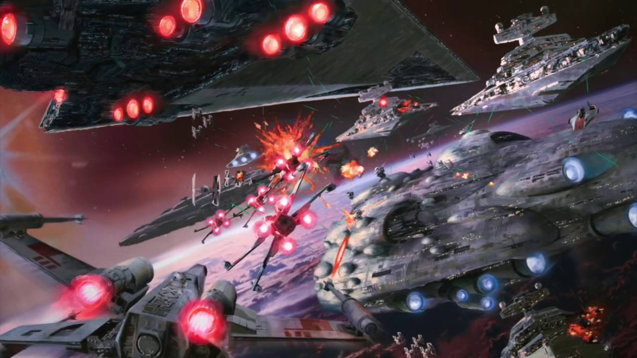 Free download Star Wars Ambience Space Battle Background X