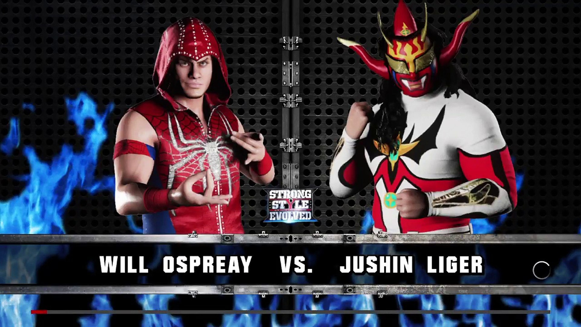 WWE 2K18 Strong Style Evolved Will Ospreay Vs Jushin Thunder Liger 1920x1080