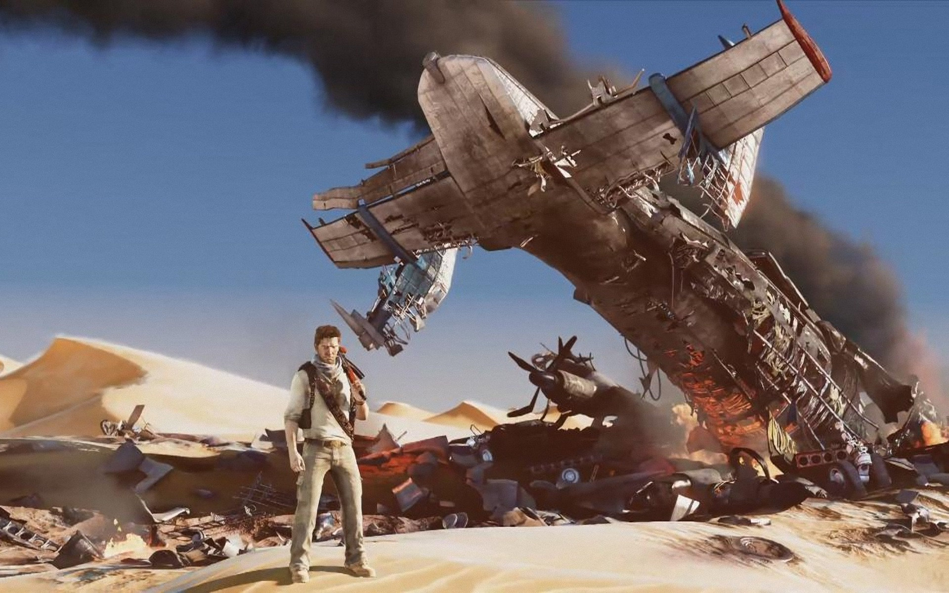 Uncharted 3 Drakes Deception 1920x1200 Wallpapers 1920x1200 1920x1200