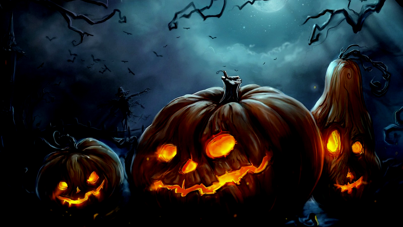 Halloween Computer Wallpapers Desktop Backgrounds 1600x900 ID 1600x900