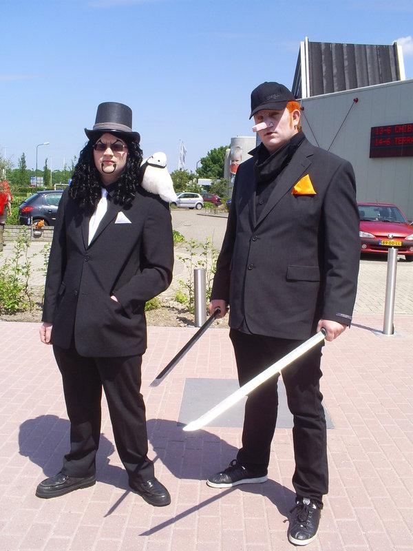 Rob Lucci and Kaku cosplay by dehulk2005 600x800