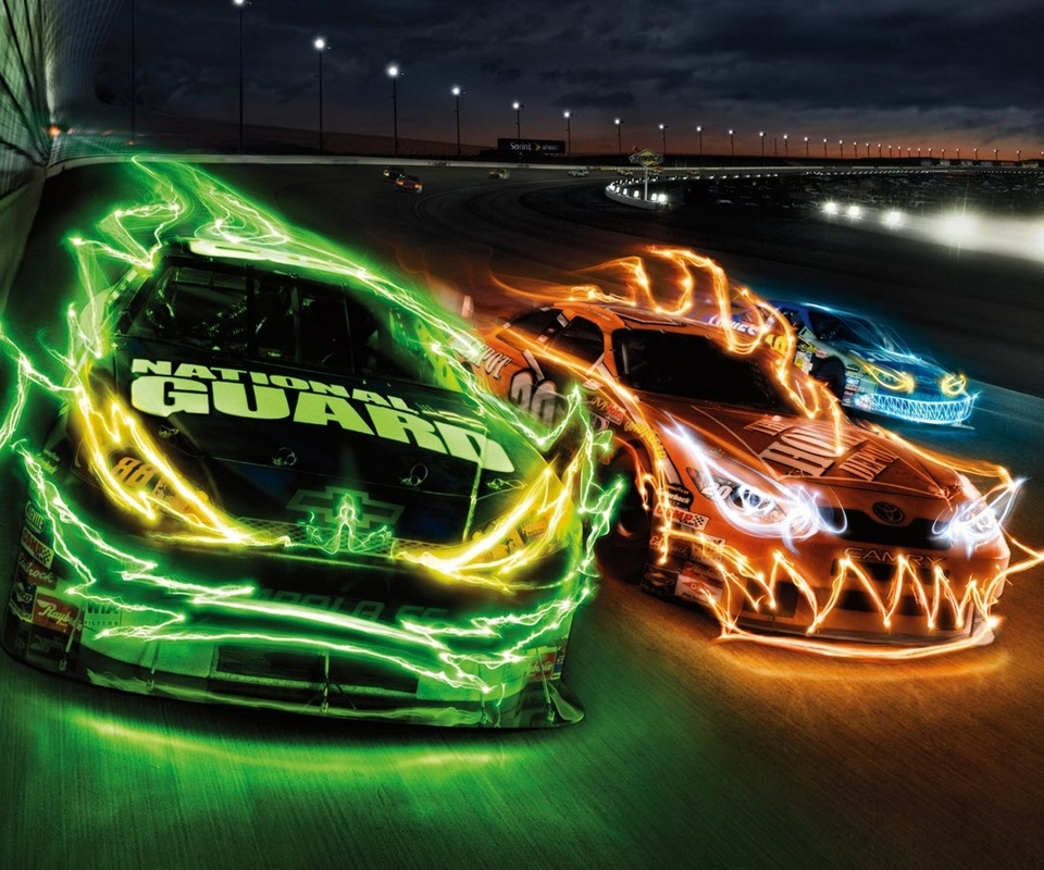 Free NASCAR Screensavers And Wallpaper