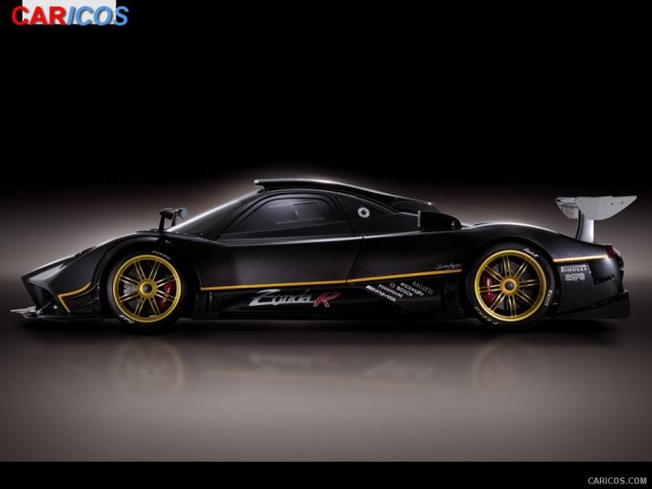 Pagani Zonda R Side Wallpaper 9 1600x1200 716x537