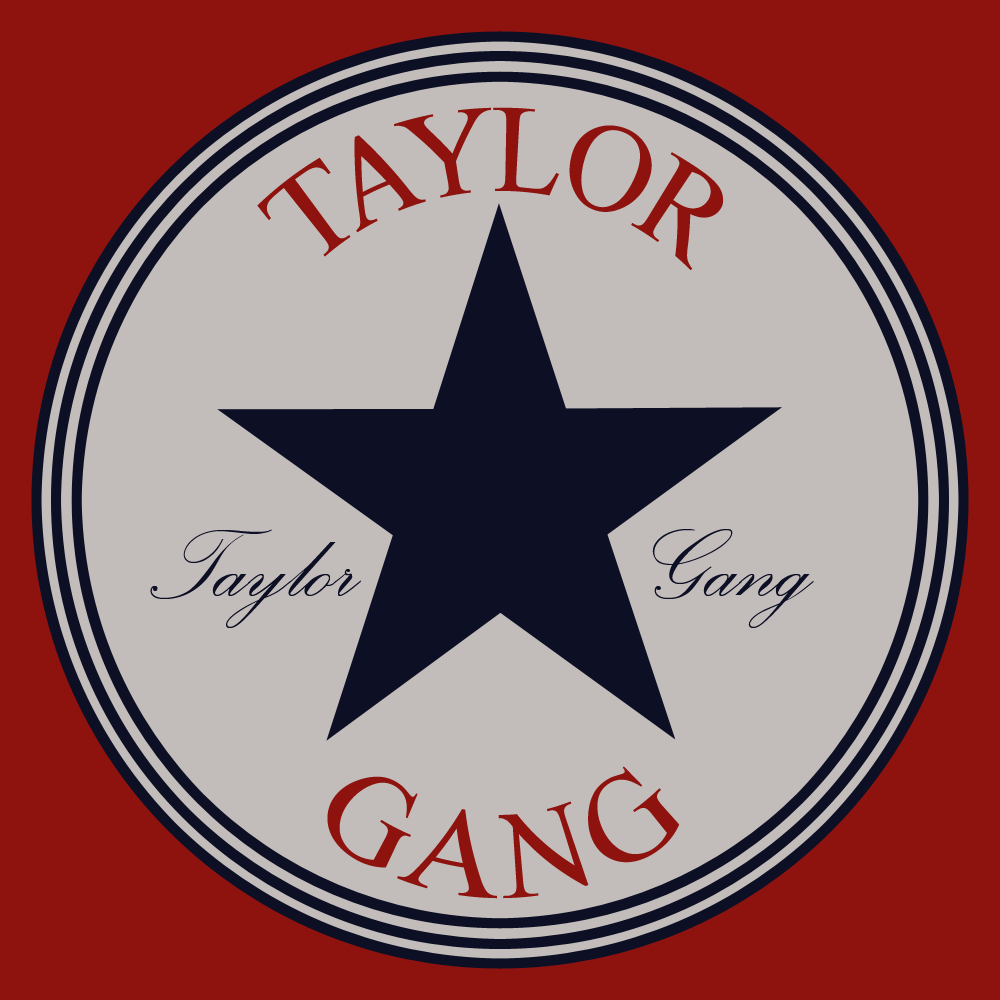 taylor gang logo by goupil418 digital art typography other taylor gang 1000x1000
