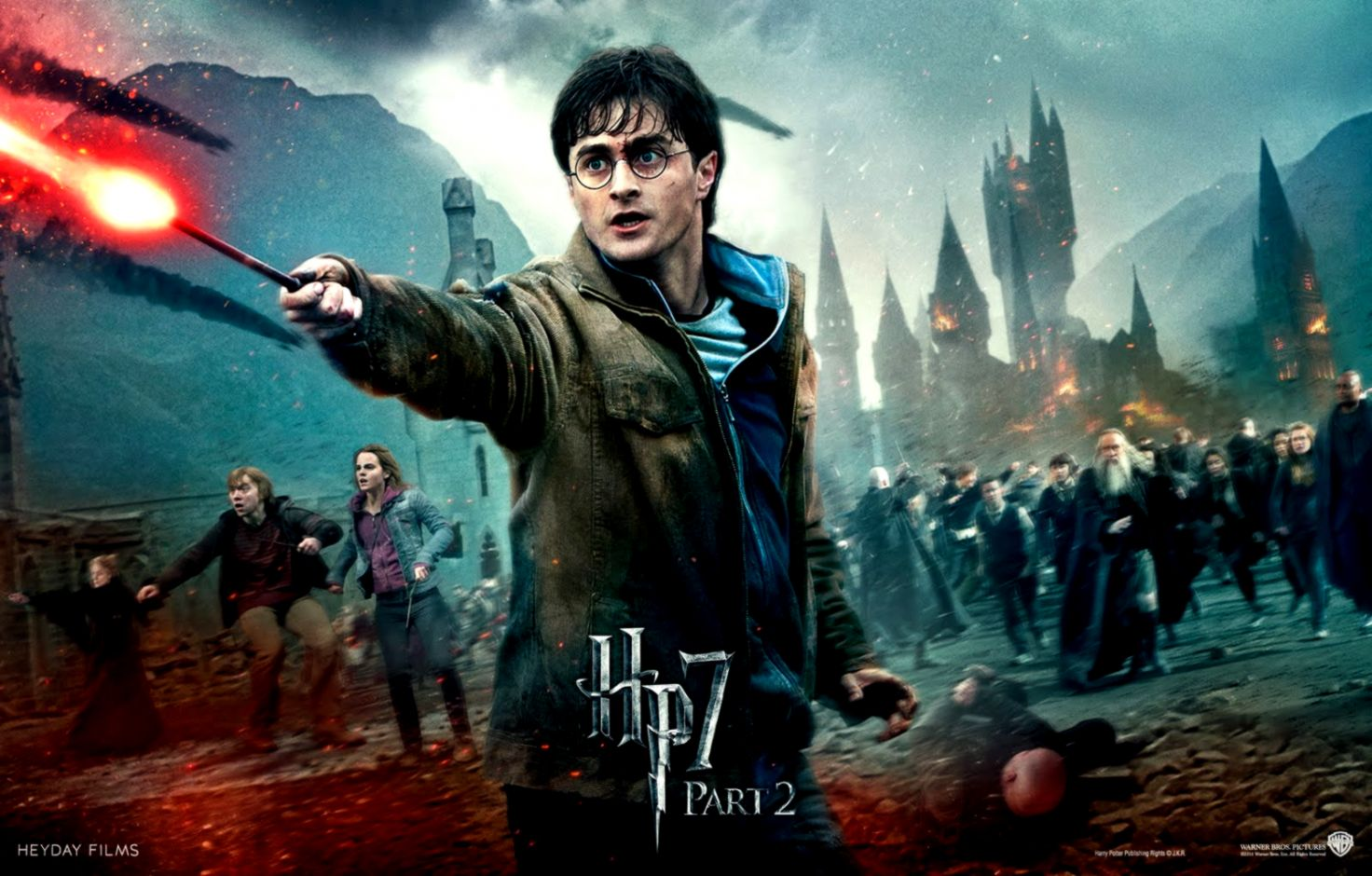 Harry Potter And The Deathly Hallows Video Game Wallpapers 1472x940