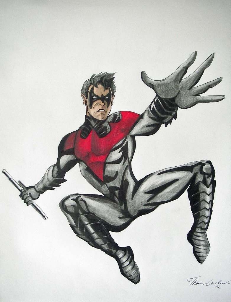 Nightwing New 52 Wallpaper Nightwing New 52 Drawing by 782x1022