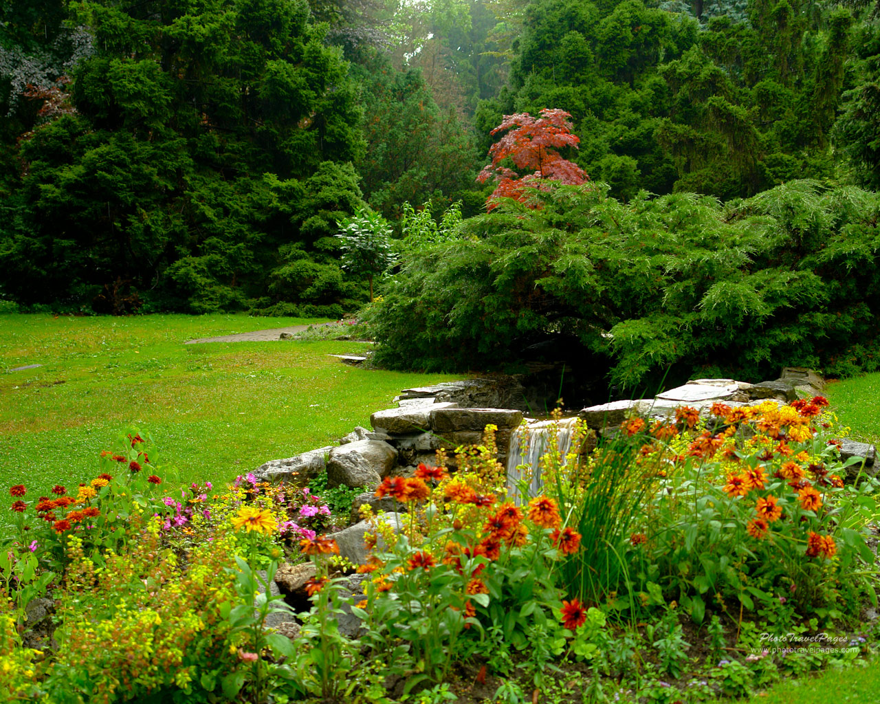 Garden screensavers and wallpaper wallpapersafari - Garden screensavers free ...