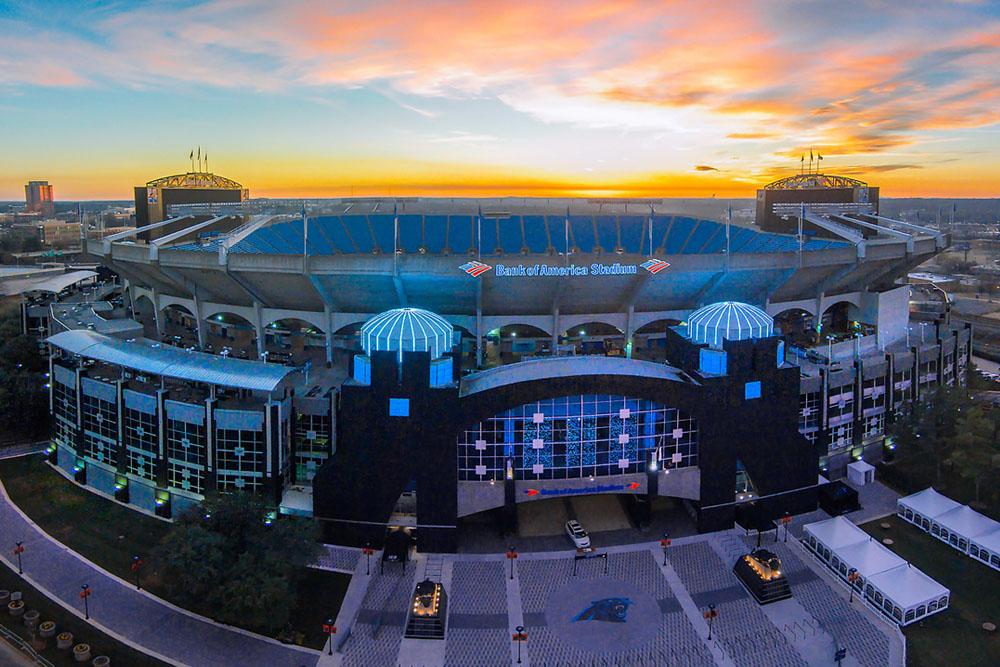 Carolina Panthers Stadium Charlotte 1000x667