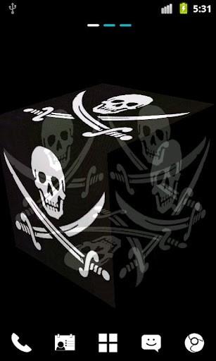 pirate flag live wallpaper full