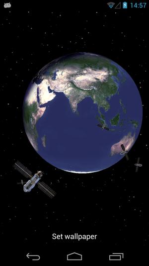 Planet earth 3d live wallpaper download   ensoftoniccom 300x535