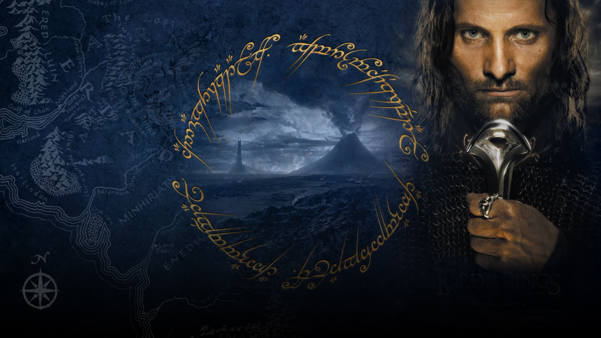 LORD OF THE RINGS RETURN KING fantasy wallpaper 1920x1080 102819 1920x1080