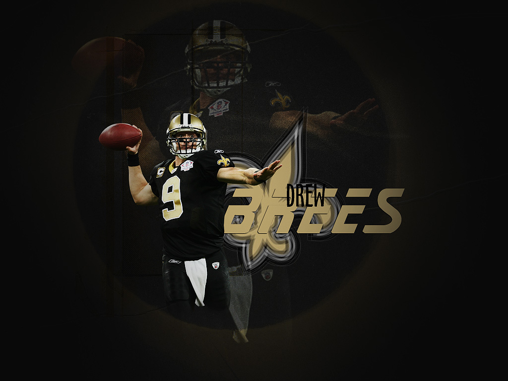 drew brees wallpaper 77307 photo 1024x768