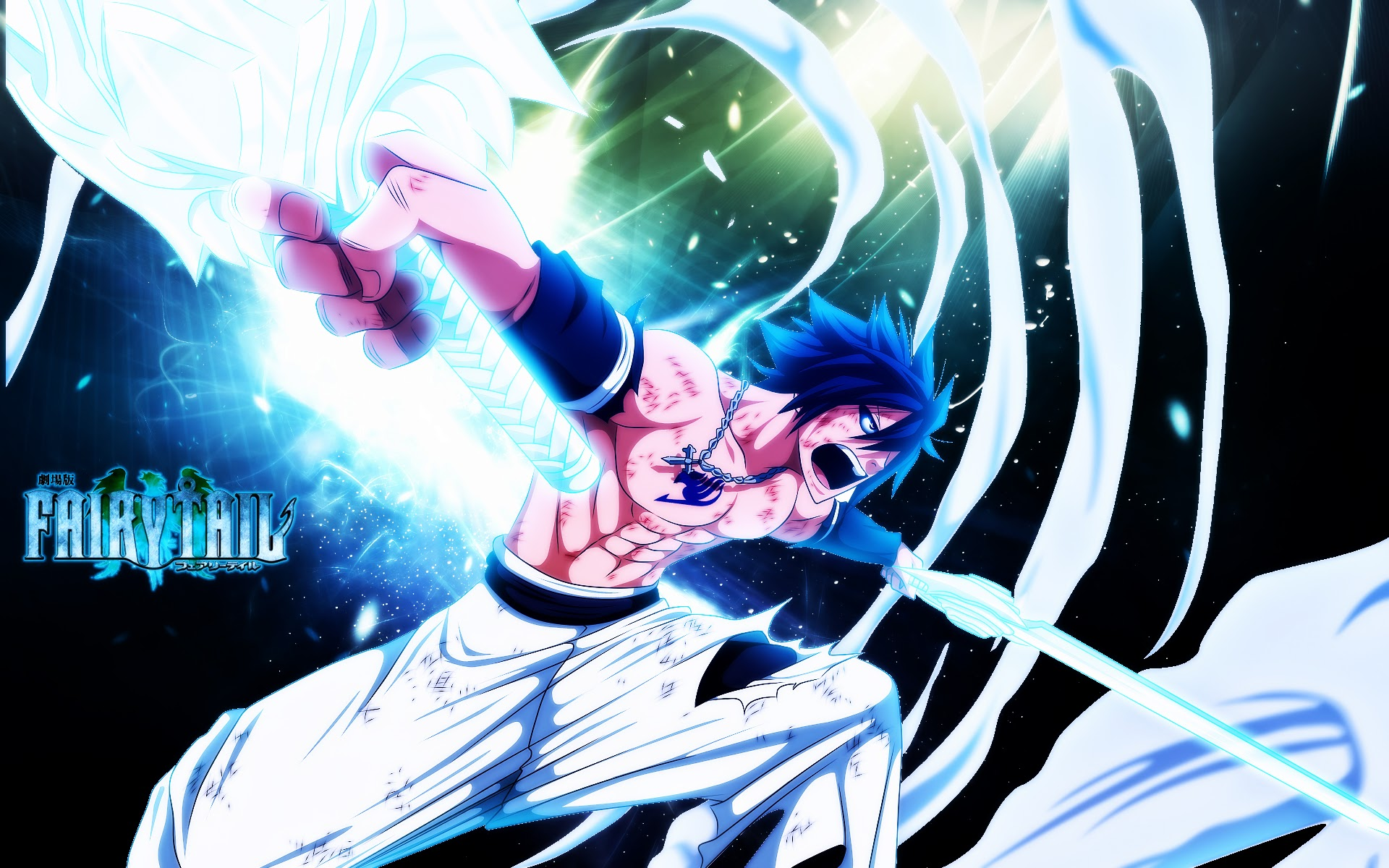 gray fullbuster anime fairy tail hd wallpaper image picture 1920x1200 1920x1200