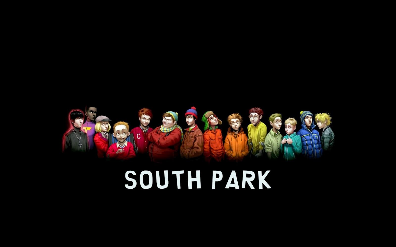 South Park Characters Elder Versions HD Cartoon Wallpaper 1600x1000