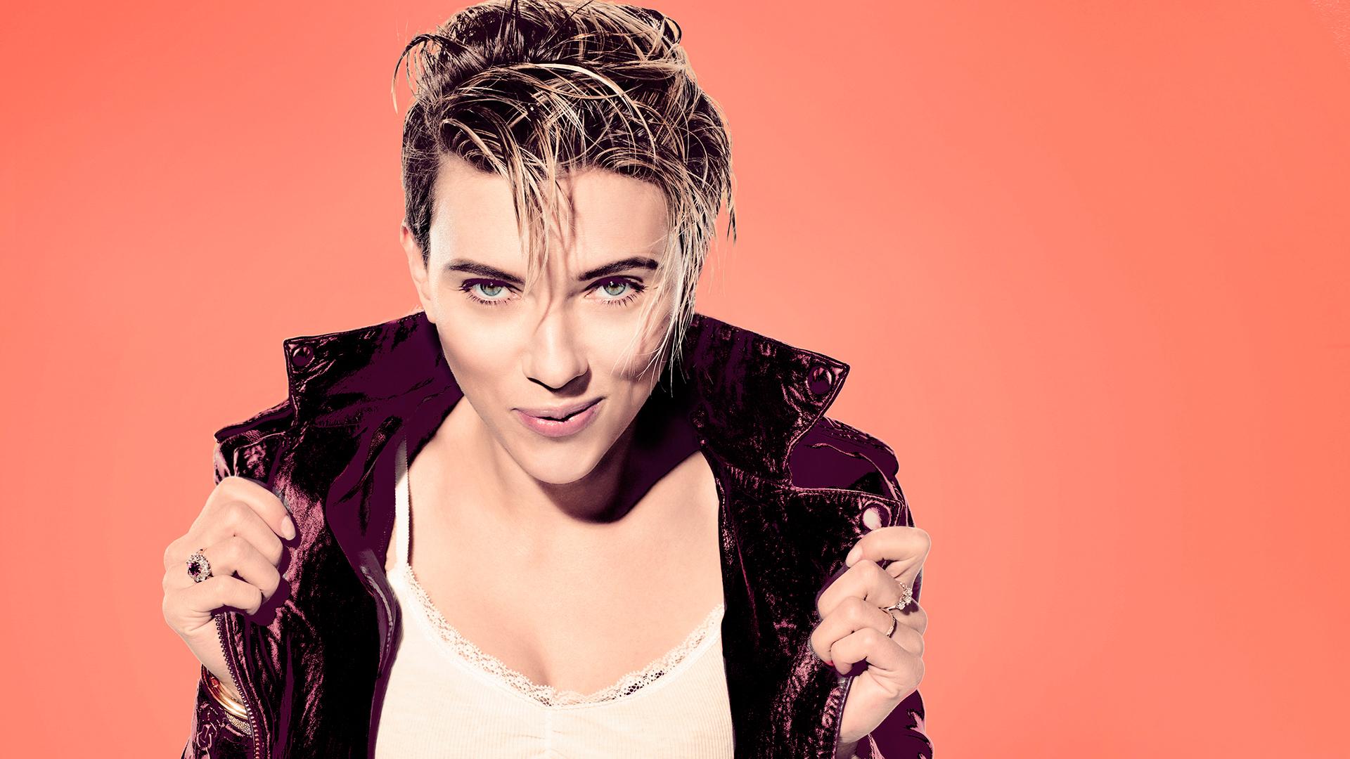 Scarlett Johansson Photo Shoot Saturday Night Live Wallpaper 1920x1080